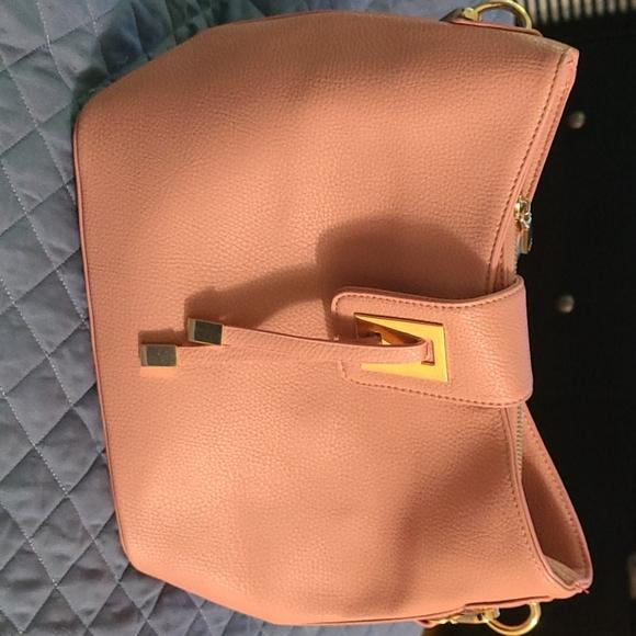 Dusty rose purse